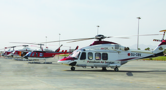 Petroleum Air Services (PAS) takes off with AMOS